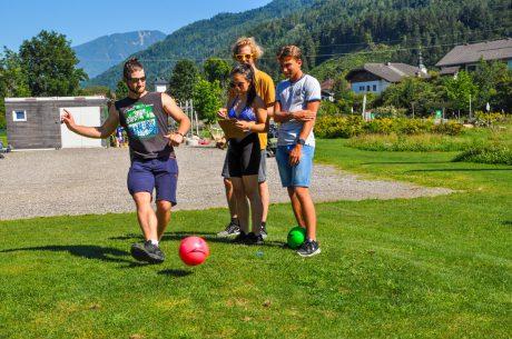 Fußballgolf für Jung und Alt