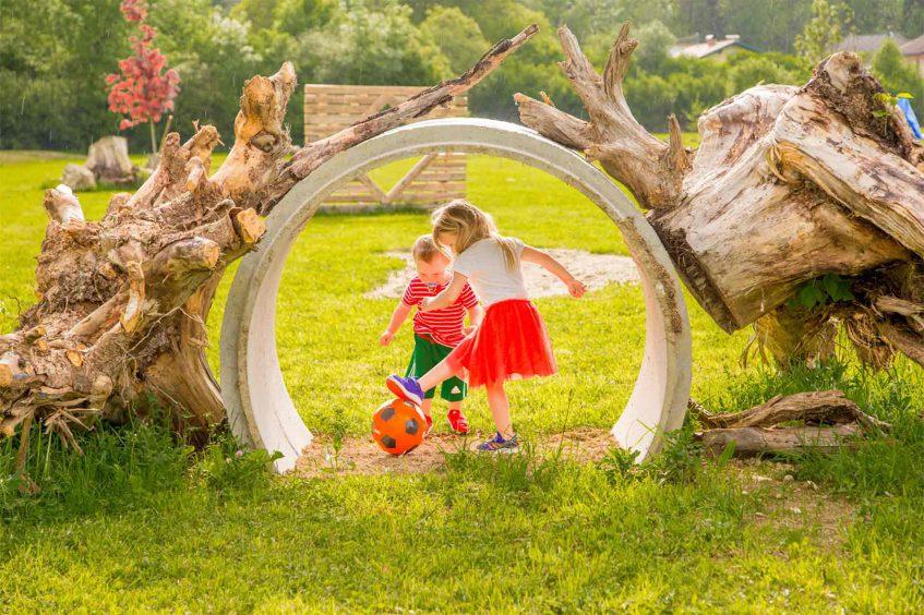 Actionreicher Kindergeburtstag im Rosental